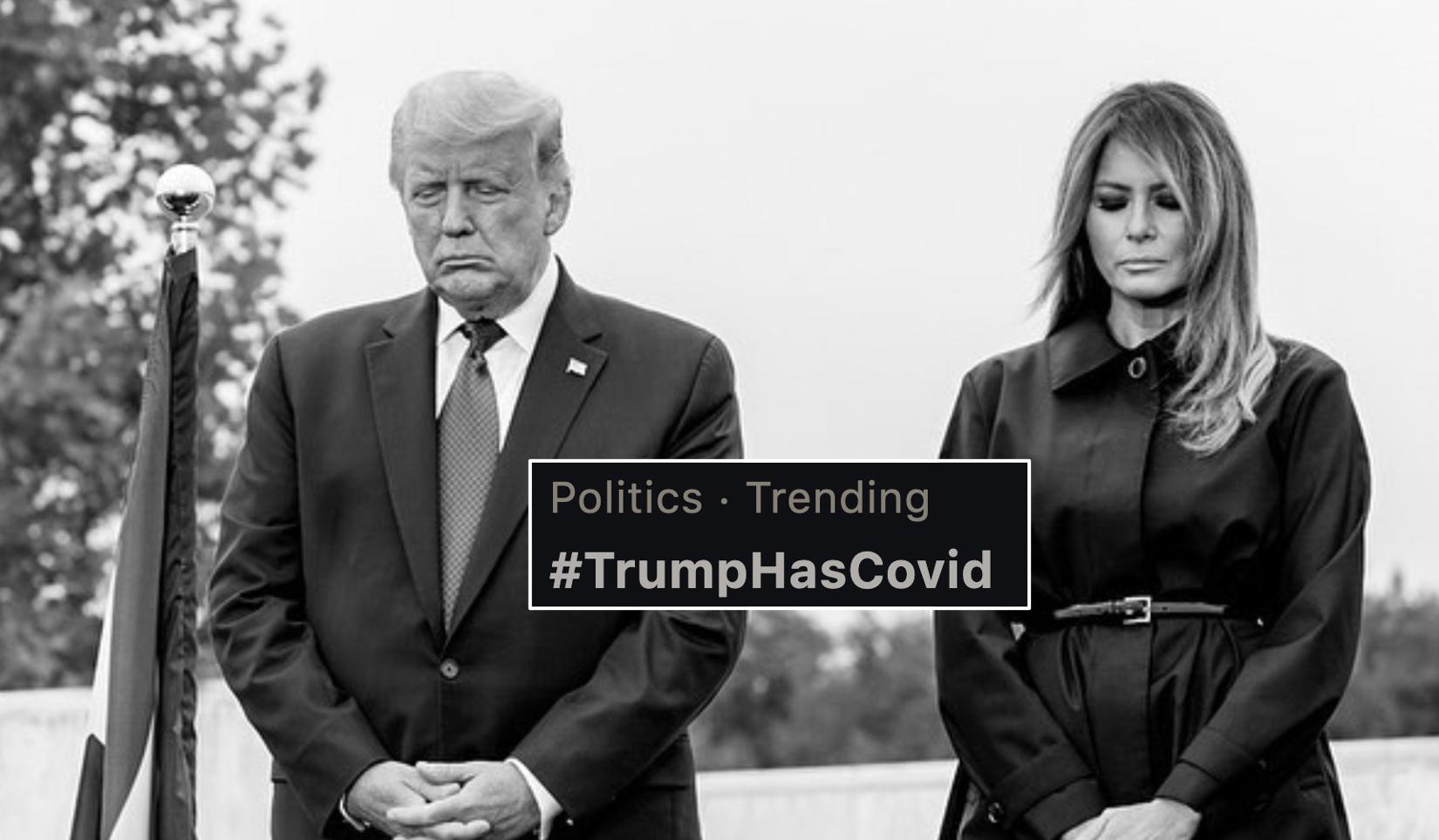 Trumphascovid Is The Number 1 Trending Hashtag On Twitter In Dubai Lovin Dubai