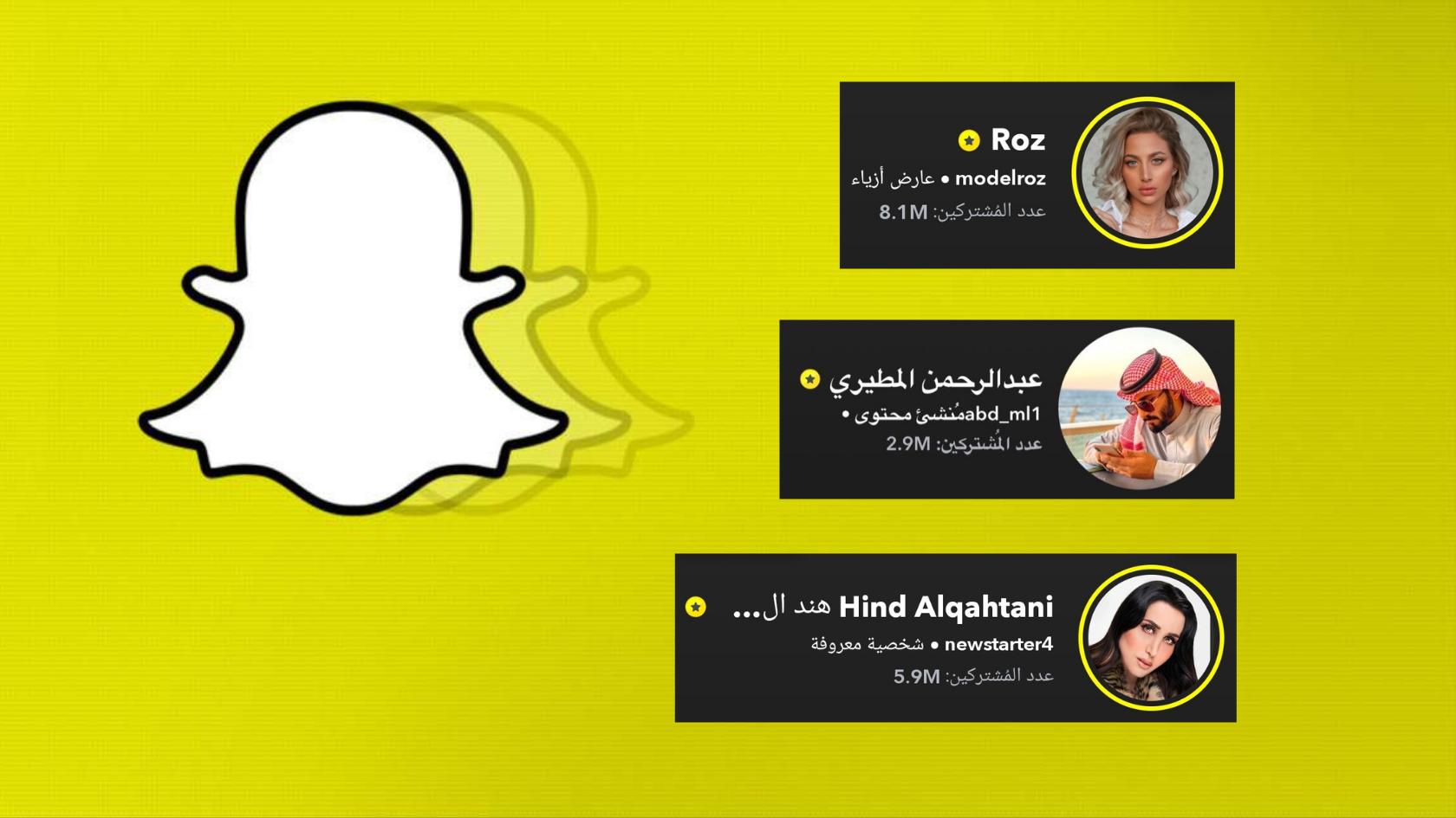 تحديث السناب شات الجديد يكشف عدد مشتركين المشاهير ويضع البعض في حرج Lovin Saudi Arabic